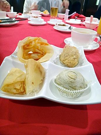 中華料理攻めとなる。
