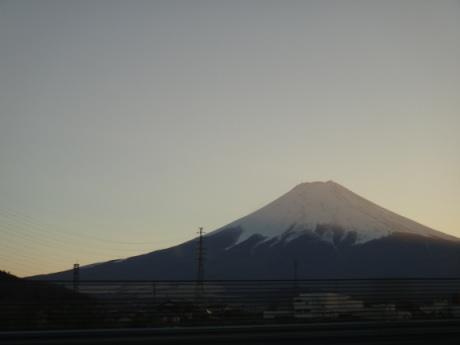 美しい富士山。