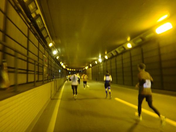 珍しいトンネルのパート
