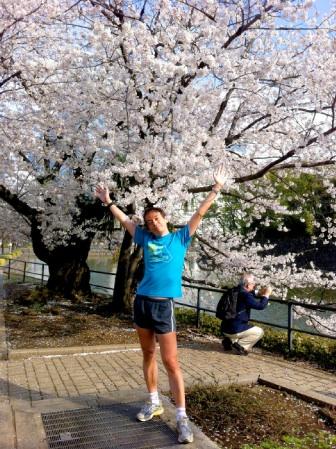 桜は満開\(^o^)/
