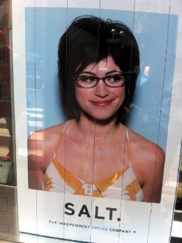 メガネ美人発見!つかメガネのチラシ(笑)