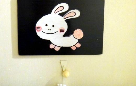 部屋の名前が動物名。来年はウサギの間に泊まろう(≧ω≦)b