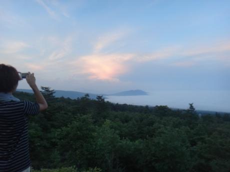 雲海が綺麗