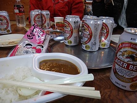食べて飲むしかない〜(≧ω≦)b