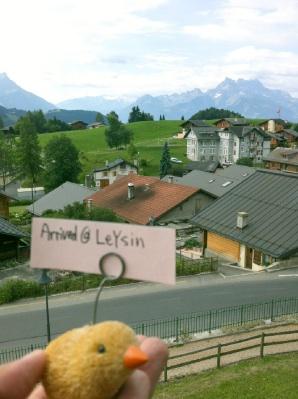 スイスらしい風景