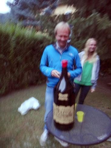 12リットルワインを開けてくれた\(^o^)/