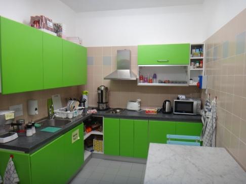 ソロンノのユースのキッチン