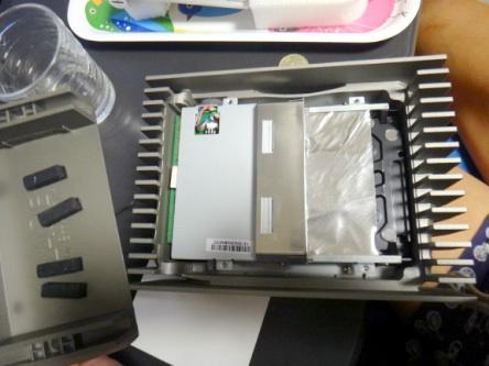 スタルクのHDDを開腹