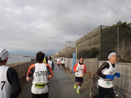 富士山が見えず残念