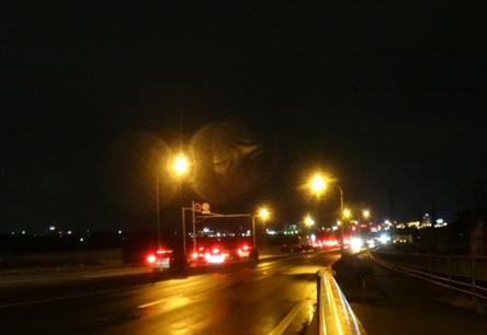 川越の夜景で喜ぶなんて、こんな時しかない(≧ω≦)b