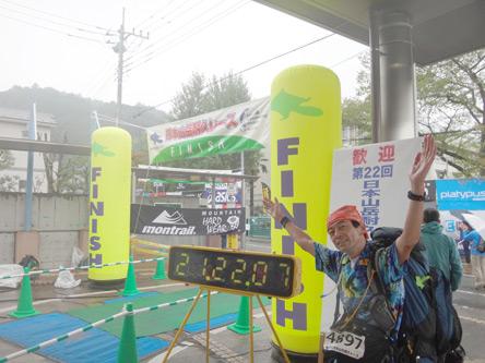 1泊2日のレース終了〜