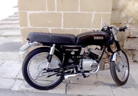 100ccのバイクが多い