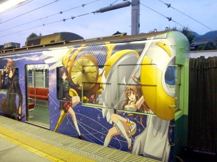 ヘンな絵の電車がキタ