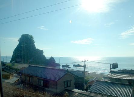 今年2度めの日本海