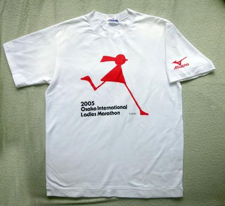 ワタシのお気に入りの大阪国際女子のTシャツ。来月号に載る予定。