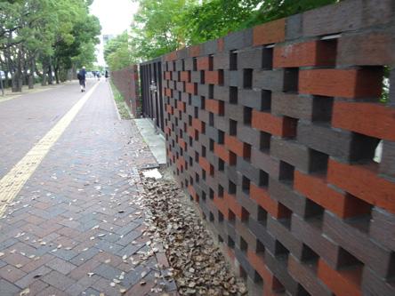 オシャレなブロック塀