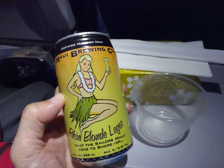ハワイローカルのビールも美味。
