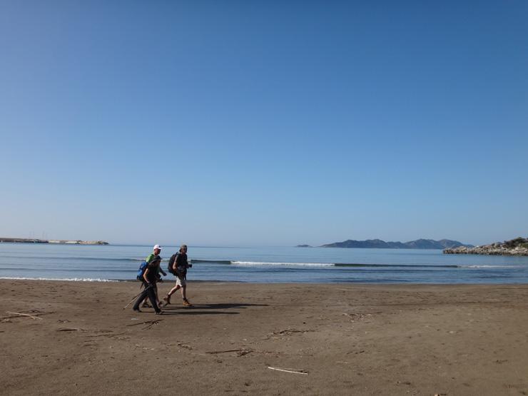 砂浜からスタート−