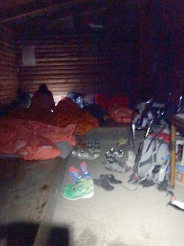 避難小屋にはヴィヴィがいっぱい