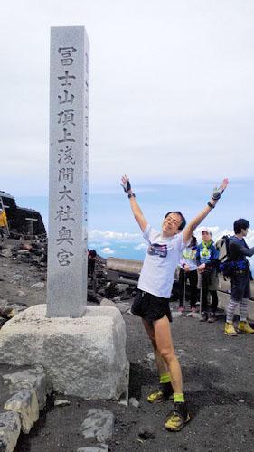 山頂にキタ\(^o^)/