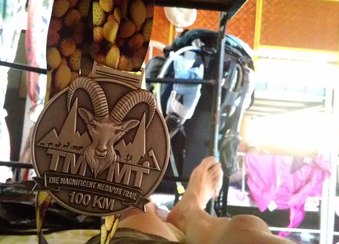 100キロのメダル