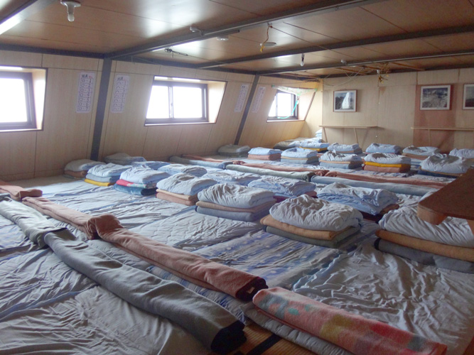 雑魚寝&密集部屋