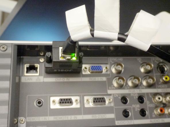 SONYで唯一びっくりしたのがRJ45-DVID変換アダプター(笑)