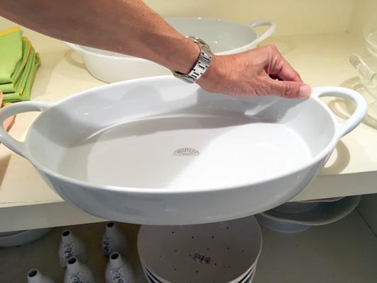 これぐらい大きい皿を捜索中。これは高かったw
