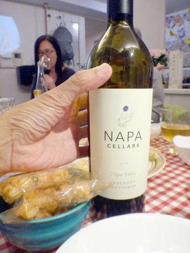 チリとナパのワインを飲み比べ