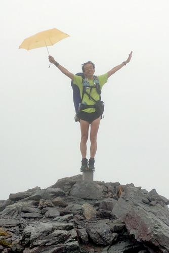 蓮華岳の三角点