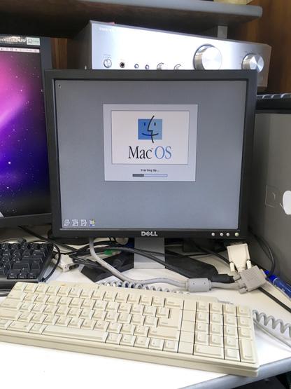 古Macからデータを救出中