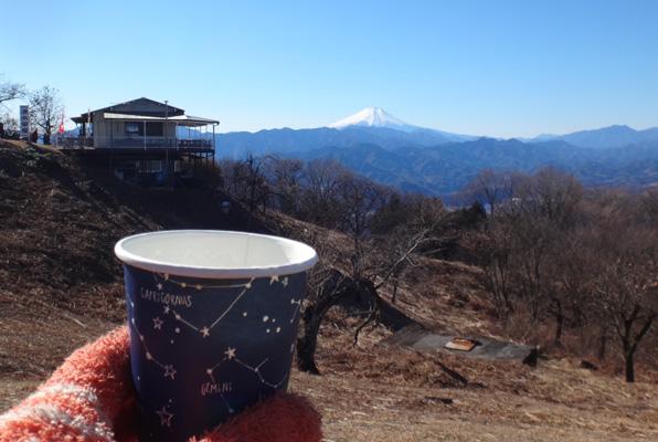 富士山も南アルプスも