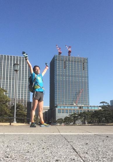 東京駅近くにて