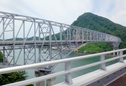 新しい橋ができてた