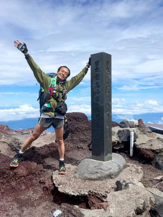日本最高点の剣ヶ峰
