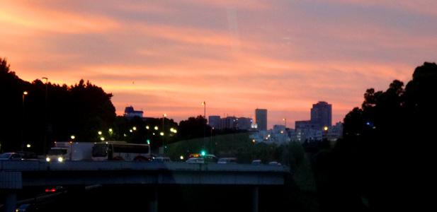 夕日が綺麗だから許そう(^o^)