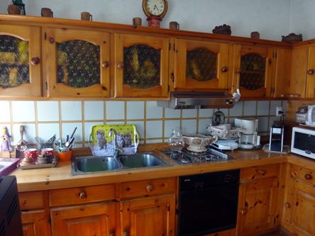 古めかしいキッチン