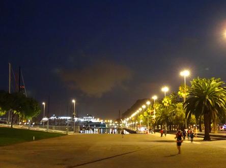 最後のバルセロナの夜