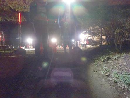 4:16のタイムスタンプの月夜見駐車場