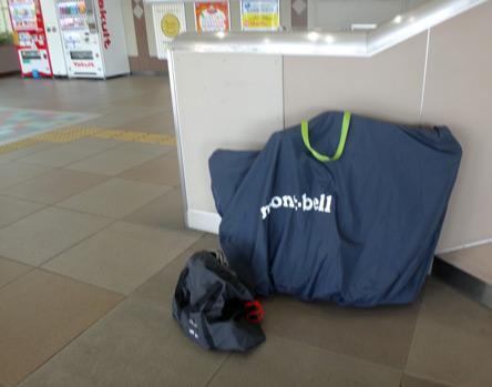 拝島駅到着ー