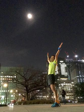 月も入って良く写っとる(^o^)