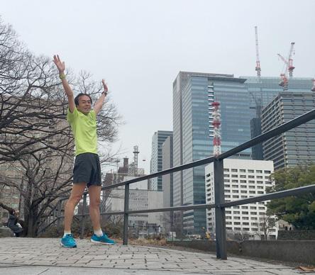 昨日が富士登山競走、今日はハセツネT
