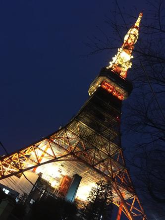やっぱ東京タワーがカコイイ(^o^)