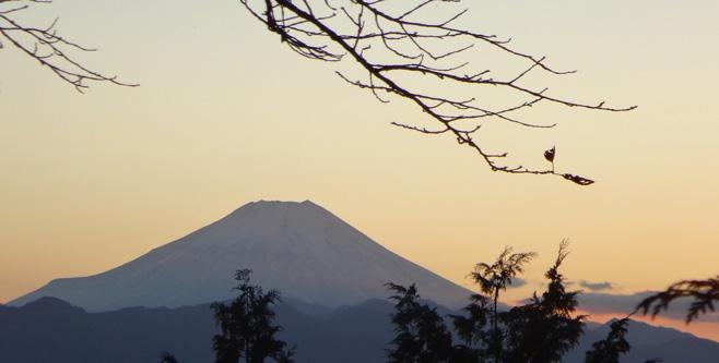 富士山が見えるのは久しぶり