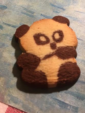 悪そうなパンダのクッキーw