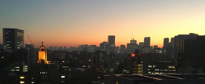 でもウチの夕日が綺麗(^o^)