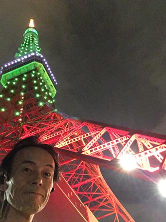 東京タワーで夜の顔w