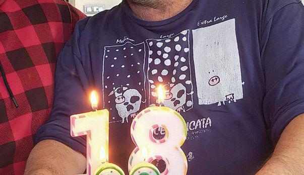 イタリアの友人のシャツがナニゲにカワイイ