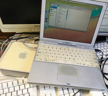 古いMacを起動してみた
